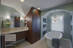 Bathroom Designer Chicago Mesmerizing Transitional Bathroom Design Portfolio  Award Winning Bathroom 2018