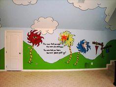 atlanta area, mimi's murals, dr suess bedroom!!