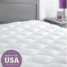 Shop for bamboo mattress pad with extra plush removable pillow top from eLuxury. The best online store for Mattress Pads & Toppers! Our bamboo pillow top mattress pad is highly rated. Check them out!