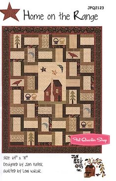 Home on the Range Quilt Pattern Jan Patek Quilts