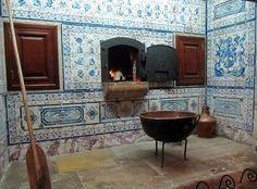 cozinha do Mosteiro de São Dinis | Odivelas, Portugal  #Odivelas #Portugal #Azulejo #Azulejos #azulejosdeportugal #azulejoportugues #azulejoportuguês #azulejosportugueses #tile #tiles #InstAzulejos #InstAzulejo #azulejocollector