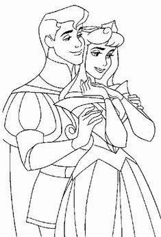 Sleeping Beauty Smile Sleeping Beauty Coloring Pages Pinterest