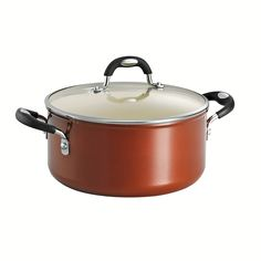 Tramontina 80110/050DS Style Ceramica 01 Covered Dutch Oven, 5-Quart, Metallic Copper >>> You can get more details by clicking on the image.