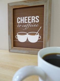 Coffee Prints  Coffee Cup Wall Art  Kitchen / by DaphneGraphics, $16.00