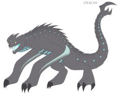 here's Otachi, sure he or she isn't the way I expected it to be, but come on I tried, hope you guys like it. (Base Design belongs to ) Otachi Monster Drawing, Monster Art, Fantasy Drawings, Fantasy Art, Dragon Nest Warrior, Jurassic World Dinosaurs, Pyrus, Godzilla Vs, Monsters Inc