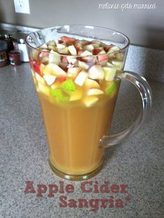 This is the perfect fall drink. I made it this weekend while hubby was watching football, and it is dangerous! It's so good you don't...