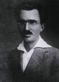 Ο Νίκος Καζαντζάκης το 1915.