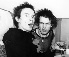 JOHNNY ROTTEN AND SID VICIOUS