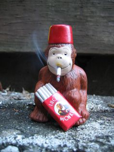 oh, smoking monkey! by Bread Mouth, via Flickr
