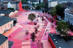 | Superkilen ° Topotek 1 + BIG Architects + Superflex |