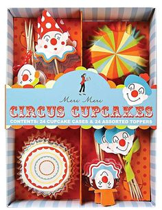 Circus Cupcake Kit by Meri Meri
