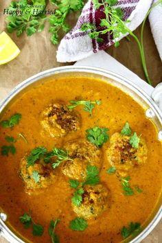 Chicken Kofta Curry (Indian Chicken Meatballs Curry)