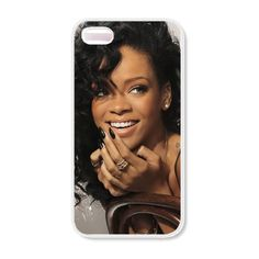 Rihanna iPhone 5 Case, iPhone 4 Case, iPhone 4s Case ($15) ❤ liked on Polyvore featuring accessories, tech accessories, phones, cases, phone cases, iphone, iphone cover case, apple iphone cases e iphone case