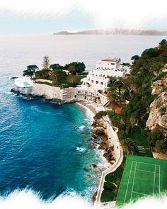 Cap Estel on the Cote d'Azur - South of France