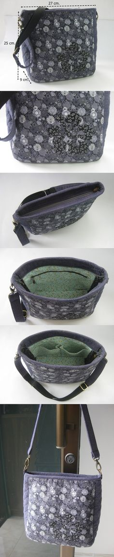26b49f6b26 Saço em tecido com alça de couro muitodos prático para passeio. Moncsicsi ·  Táskák