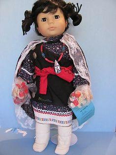 "Starshine Native American Doll ""Leila"" Hopi LE 1992 (11/11/2012)"