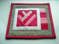 red heart mug rug picture