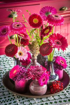 Gerbera Inspiration - Color Trends for the upcoming holiday season!| Insights, your weekly floral update! | www.holex.com | Copyright: colouredbygerbera