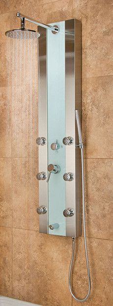 Pulse ShowerSpas Paradise Shower Panel House Design, Shower Panels, Paneling, New Home Designs, Remodel, Bathrooms Remodel, Home Remodeling, Home, Shower Fixtures