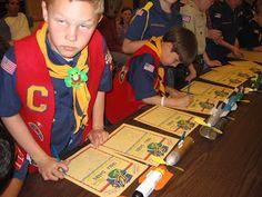 Alpine District Cub Scouts: Cub Scout Space Derby Ideas