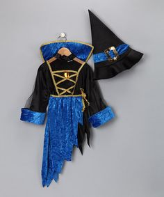 Take a look at this 3-in-1 Devil, Witch   bought this off Zulily for one of our Halloween costumes for a great price!
