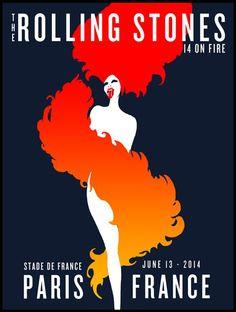 The Rolling Stones - 14 On Fire Tour - Paris - France