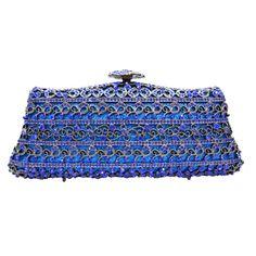 Lady Crystal Handbag Luxury Evening Party Bag Clutch Bag Jewel Case Mini Bag Bolsos De_4     https://www.lacekingdom.com/