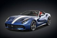 登陸美國60年!Ferrari推出限量紀念版跑車F60 America-F60 America僅限量10台,主要是為了向1967年僅訂製生產10台的Ferrari法拉利275 GTS4 NART Spiders致敬。