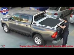 At www.accessories-4x4.com: Toyota Hilux Revo 2016 OEM roll bar roller lid 4x4 off road accessories - YouTube