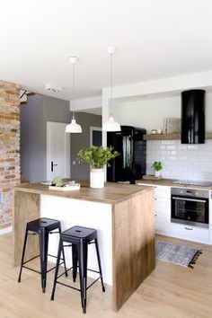 ✔ 60 small kitchen design ideas and decor 3 Related New Kitchen, Kitchen Decor, Kitchen Ideas, Kitchen Living, Kitchen Designs, Living Room Interior, Ikea Interior, Cafe Interior, Home Kitchens