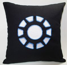 For all you Iron Man and Marvel fans who are currently decorating the home~ Or just want a new pillow case.