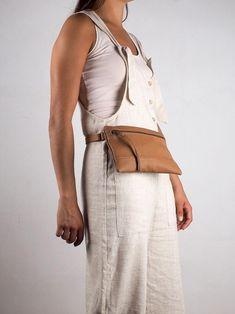 Brown leather Hip Bag for women leather waist bag leather | Etsy Leather Laptop Backpack, Brown Leather Backpack, Leather Fanny Pack, Black Leather Bags, Cowhide Bag, Leather Belt Buckle, Brown Backpacks, Belt Bags, Hip Bag