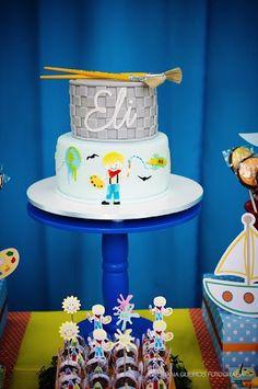 Tema para festa de aniversário: Aquarela