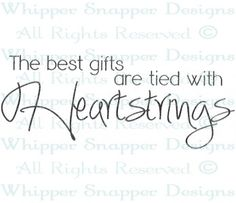 Heartstrings - Love Sayings - Love - Rubber Stamps - Shop