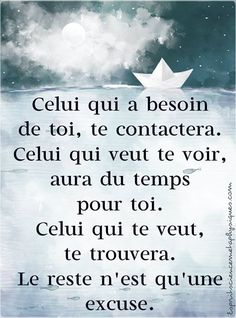 Le reste n'est qu'une excuse. #citation #citationdujour #proverbe #quote #frenchquote #pensées #phrases