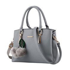 c6599898c34c1 Bequemer Laden Damen Handtaschen Fashion Handtaschen für Frauen PU Leder  Schulter Taschen Messenger Tote Taschen