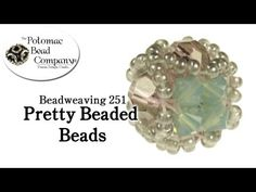 This tutorial from The Potomac Bead Company teaches you how to make pretty beaded beads using 11/0 seed beads, 8 4mm crystal bicones, and any 4 6mm round beads you chose.  This is quick and easy, and will allow you to make your own unique beads!  http://www.potomacbeads.com  http://www.thebeadco.com