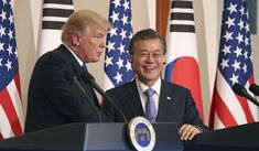 """South Korea's president said Wednesday that President Trump """"deserves big credit"""" for renewed talks between South and North Korea, and that Mr. Trump has offered to negotiate personally with North Korean leader Kim Jong-un."""
