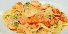 Veckans pasta v 42. Gordon Ramsey's Spaghetti with prawns in a creamy tomato sauce - LifeStyle FOOD