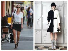 Painel de inspiração preto e branco + Moda   Andrea Velame Blog