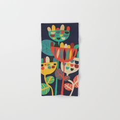 Hand & Bath Towel Bath Towel Picomodi (budikwan) Wild Flowers by Picomodi    Make your reflection jealous with this artist-designed Bath Towel. The soft polyester-microfiber front and cotton terry back are perfect for, well, drying your front and back. This design is also available as a hand and beach towel. Machine washable.