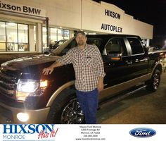 https://flic.kr/p/NXJySc | Happy Anniversary to Nathan on your #Ford #F-150 from Scott Turner at Hixson Ford of Monroe! | deliverymaxx.com/DealerReviews.aspx?DealerCode=M553
