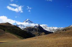 Mount Kazbek,5035 meters,border Georgia-Russia   Flickr - Photo Sharing!