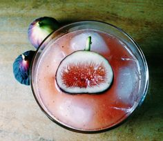 Black Jack fig whiskey sour
