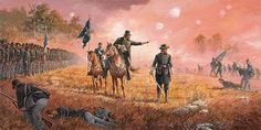 """""""Armistead at Gettysburg"""" by Keith Rocco The bonds of friendship forged by soldiers are some of deepest and long lasting that are formed anywhere. Those bonds are formed by military professionals ..."""