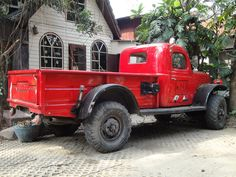 Old dodge truck, still worked! in Ayutthaya