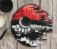 Fast and easy Perler Beads Designs, no matter what pattern you're looking, you can make it and decorate anything you want within a few minutes! Pokemon Perler Beads, Diy Perler Beads, Perler Bead Art, Pearler Beads, Perler Bead Templates, Pearler Bead Patterns, Perler Patterns, Pixel Beads, Fuse Beads