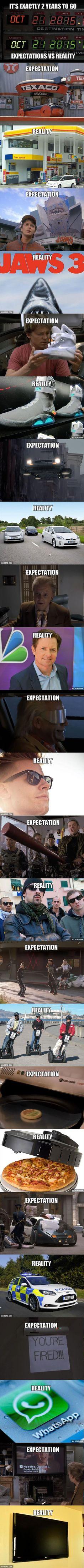 Back To The Future Expectations vs Reality – 25 Pics