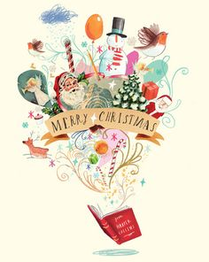 831 Best Christmas Cards Illustration Images In 2019 Christmas