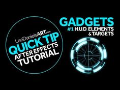 A Few Quick Ways You Can Create HUD and Tech Elements in After Effects - Lesterbanks